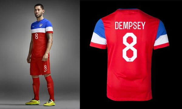 "Nike use our ""Rex"" free font for the soccer kits of team USA - http://t.co/kesnNqASC3 #WorldCup #BELvsUSA http://t.co/BcPVQIeW4G"