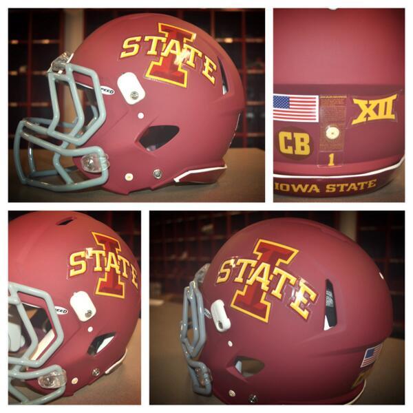 See The New ISU Football Helmet Design