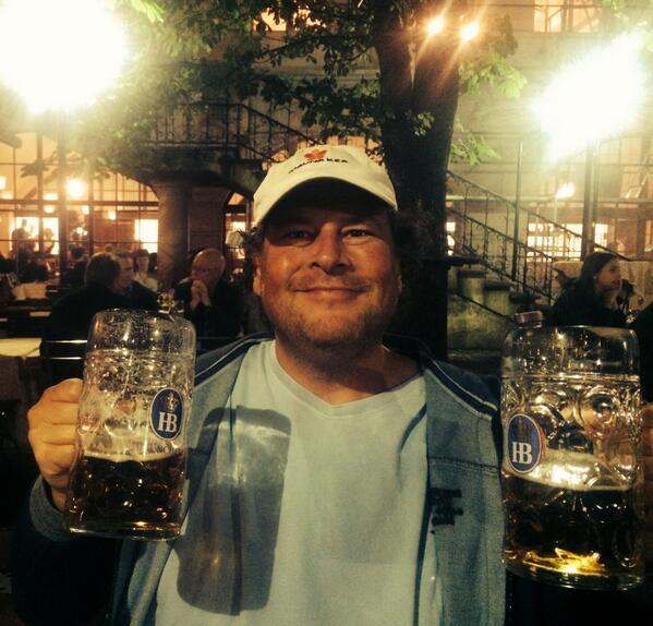 Marc Benioff in München