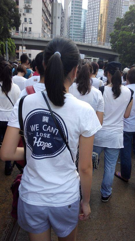 protesting along with 510,000 others on #july1hk http://t.co/AITgxlSvQa