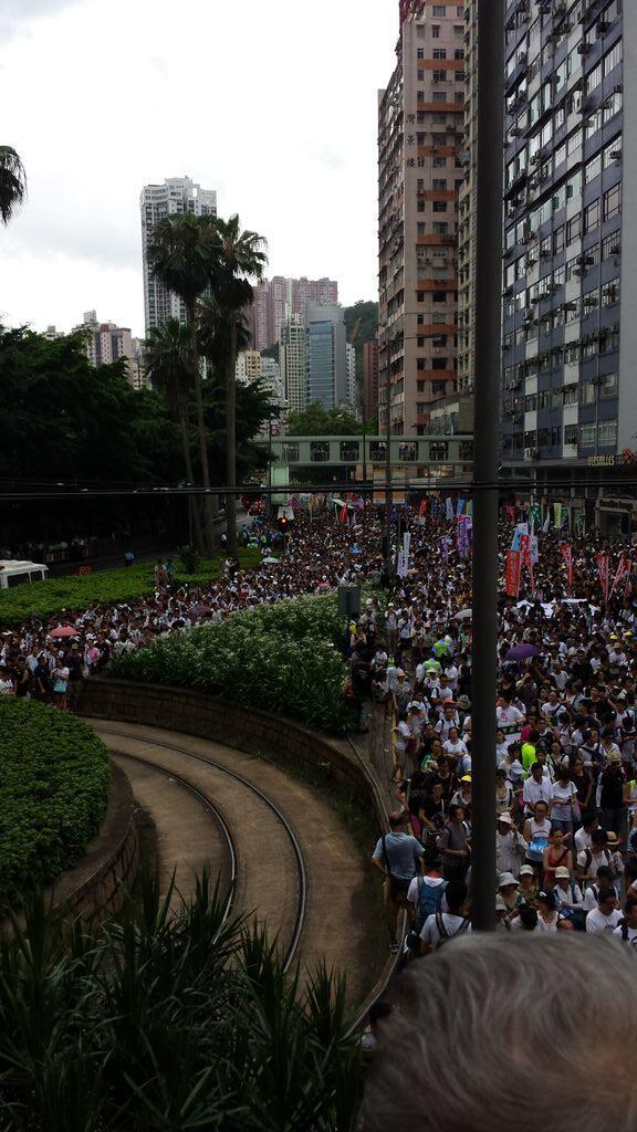 Proud to be a Hongkonger! #July1HK http://t.co/qUU9wVhIF2