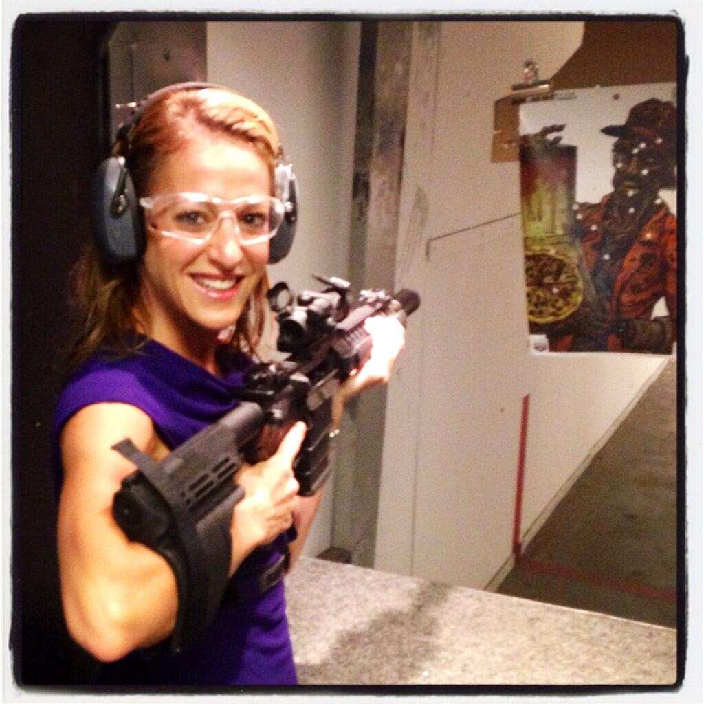 Twitter / EmilyMiller: Just shot this fun gun. It's ...
