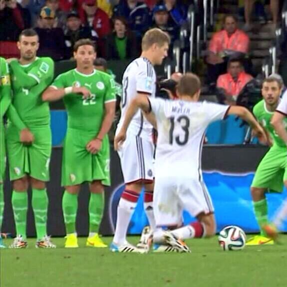 Foto Muller (Germania) ai Mondiali di calcio in Brasile 2014