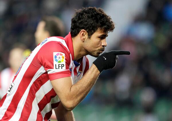 Chelsea paid Atletico £30m for Diego Costa, Blues also have agreement to sign Tiago [AS]