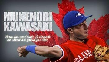 BrehpPlCAAASxR8 Toronto Blue Jays Munenori Kawasakis greatest hits (and were not talking baseball!)
