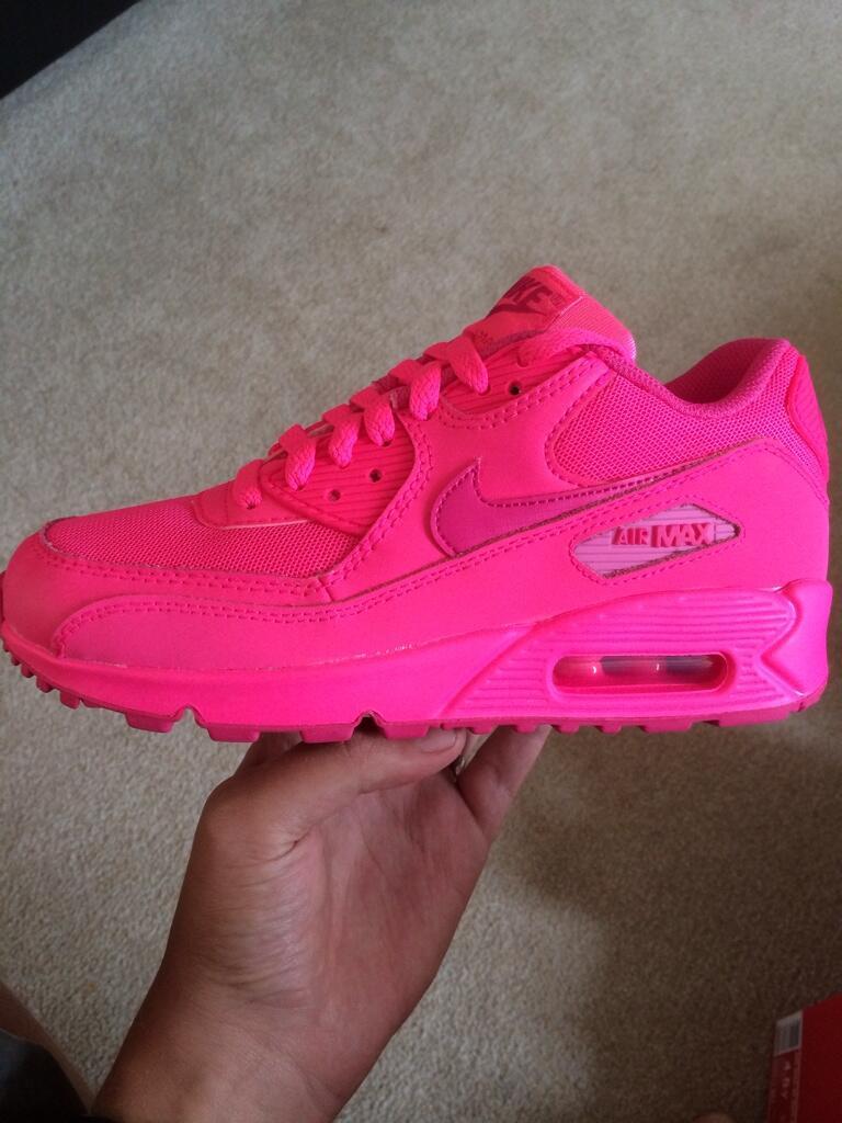 hyper pink air max 90