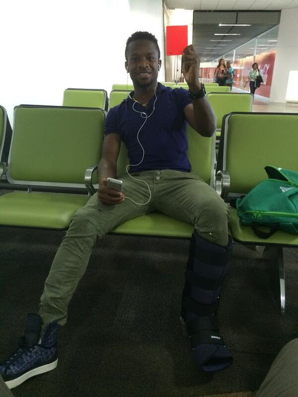 Onazi just found the red card the referee lost yesterday