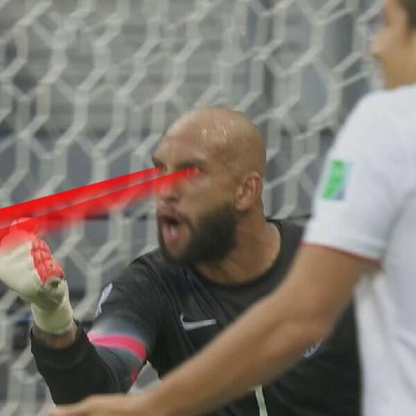 Tim Howard is laser focused right now. http://t.co/ffOwZByAMO