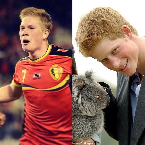 Prince Harry plays for Belgium? #USAvsBEL http://t.co/fiamC1eVi9