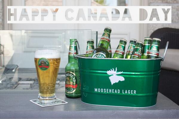 Happy Canada Day! Everyone raise a Moosehead Lager to this awesome country. #Since1867 #ProudlyIndependent http://t.co/81JM2ARpu3