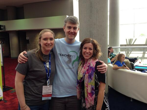 Hard to see great people only once a year. #iste2014 @jessievaz12 @liz1544 http://t.co/g77DRMNI7o
