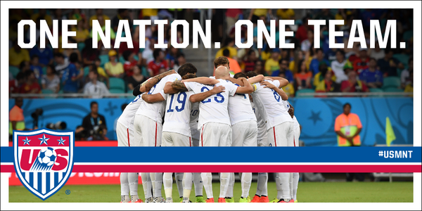 One Nation. One Team. And, really, Just One Guy. #timhoward #OneNationOneTeam #1N1T http://t.co/xr3cIIJQeZ
