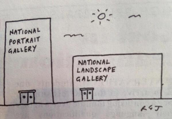 National Portrait Gallery; National Landscape Gallery. http://t.co/RU3Kwzm6hQ