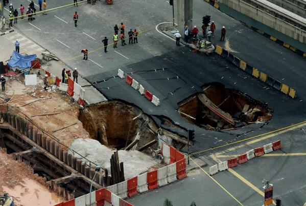 Terowong Mendap Di Jalan Imbi
