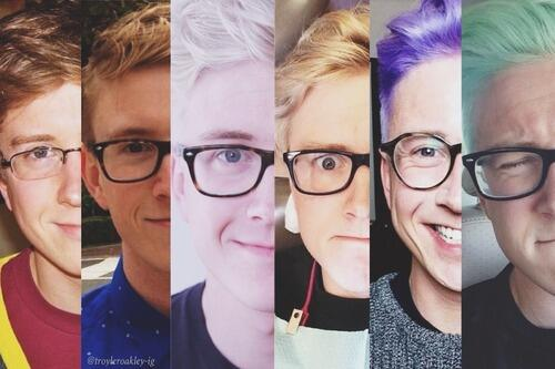 Tyler oakley name logo images for Blow out karlsruhe