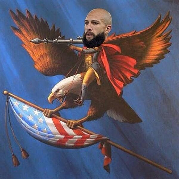 Tim Howard did more for the US in one soccer game than Obama has done for the US in 6 years. Merica. http://t.co/aTc8Kplbln