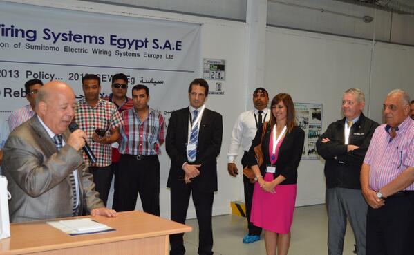 UK in Egypt on Twitter Great visit to UKJapan SE Wiring Systems