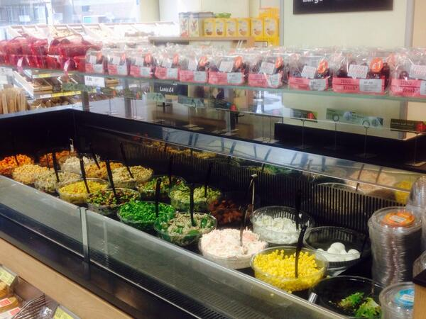 Basia russell on twitter salad bar in tesco goodge for Food bar russell