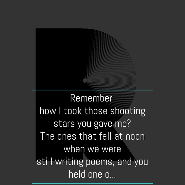 Remember Those Shooting Stars #clpoettag #clmooc https://t.co/JzijDL3MNQ http://t.co/UqG4GSTcyK