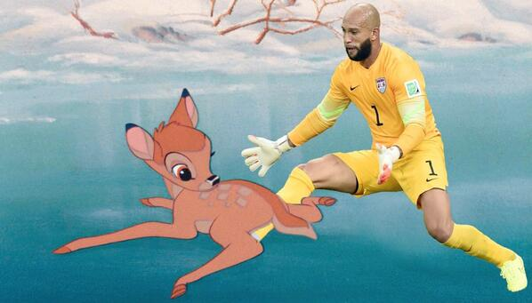 Theres a fresh batch of memes for Tim Howard after his historic US performance v Belgium [Pictures]