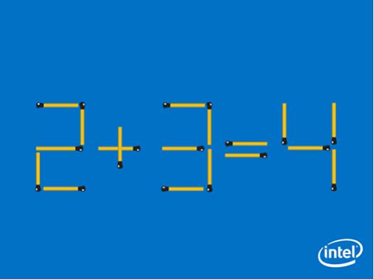 【クイズ】皆様ならどのようにマッチ棒を動かしますか? pic.twitter.com/ytCvbC0xFR