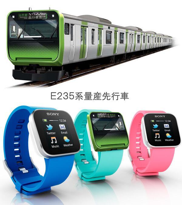 トレンドにあったE235を見てどこかで見たことなるなぁと思ったら、Smartwatchだ… http://t.co/z9aXruPFjo