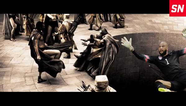 #ThingsTimHowardCouldSave   The messenger from 300 http://t.co/BmtdMB4qU1