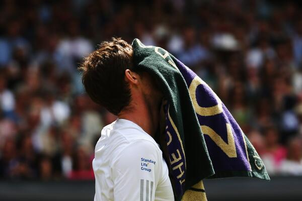 Andy Murray is out of #Wimbledon after 6-1 7-6 (7-4) 6-2 defeat to Grigor Dimitrov. http://t.co/GP72VqriK3 http://t.co/1RtykqyNji