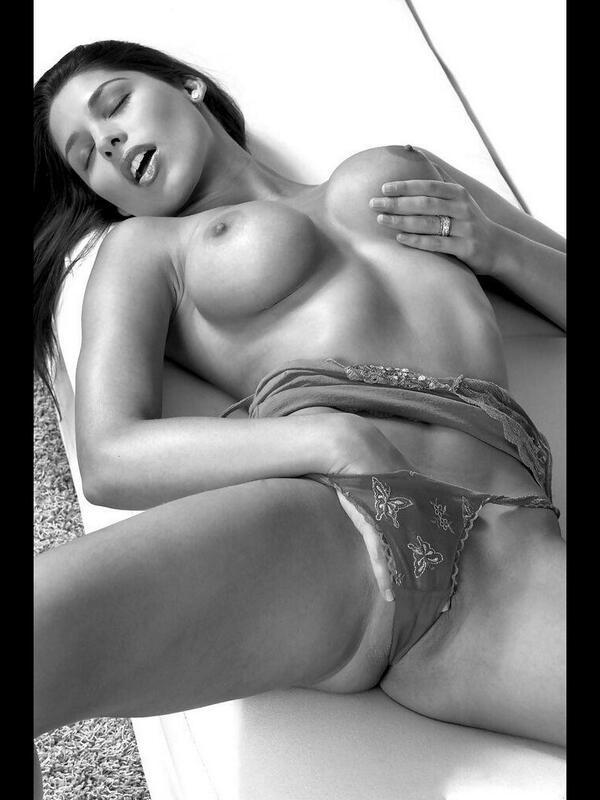 Sexy horny girl brunet jungle
