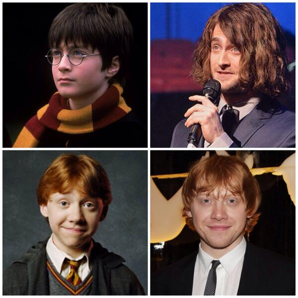 Before/After #HarryPotter +α← http://t.co/YW1k920aJS