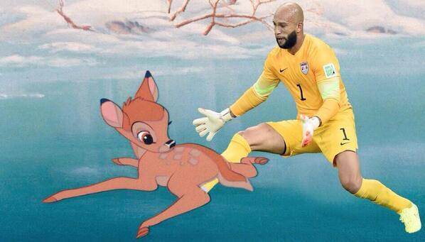 @thezambianking :Bambi, Blockbuster and Betamax: the best #ThingsTimHowardCouldSave memes: http://t.co/2oYbmZriKQ  http://t.co/8sDyFAr28q