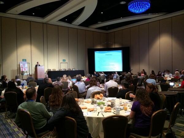 Stayce Beck @US_FDA @FDADeviceInfo speaks to the audience at #masterlab #CWDFFL14 http://t.co/GrjMsrJeoS