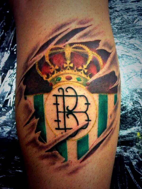 """Tatuajes Del Escudo Del Betis tatuajes del #betis on twitter: """"ojo al tatuaje que nos manda el"""