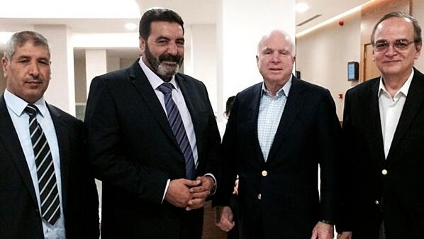 John McCain back to Syria, meeting with ISIS rebels