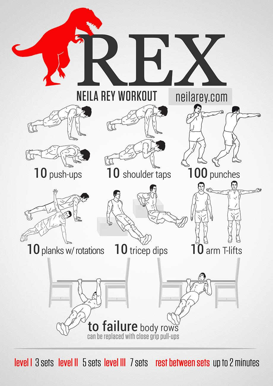 Darebee On Twitter Quot Rex Strong Amp Toned Arms Workout