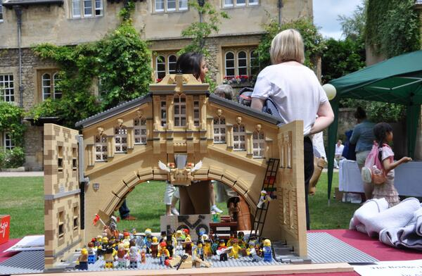 "Oxford University on Twitter: ""Build a Lego Bridge of Sighs and ..."