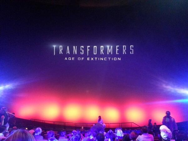At #transformers4 premier screening courtesy of @paramountuk http://t.co/vPB2kFuh98