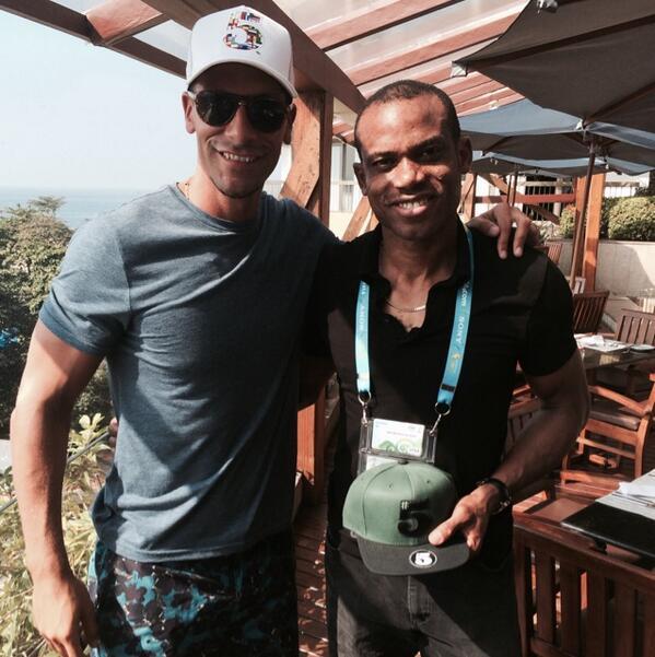 foto presa dal profilo twitter di Rio Ferdinand
