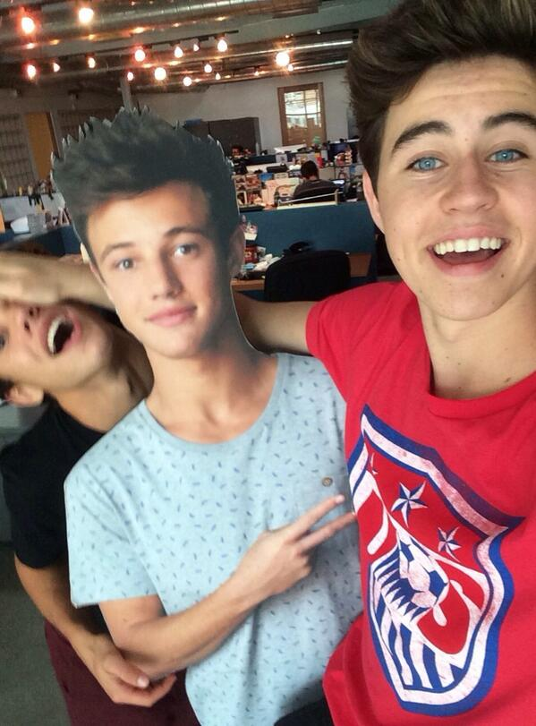 Nash grier and friends