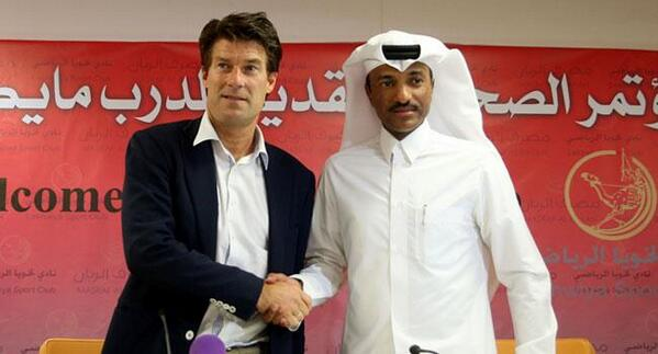 Michael Laudrup states decision to stop being a manager in 10 20 years on taking coaching job at Qatars Lekhwiya