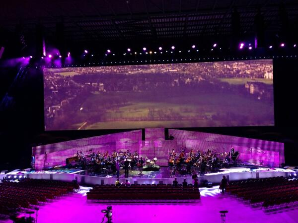 A sneak peak of the stage for tomorrow nights #tdfceremony at @fdarena Gonna be special #yorkshirehour #theroad http://t.co/DKSuH7oSxC