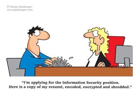 Leandro Bennaton On Twitter The Best Information Security Resume