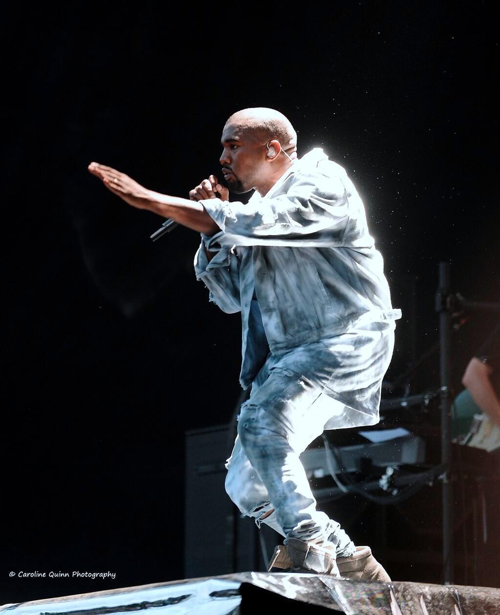 Kanye West Performs Live In Dublin
