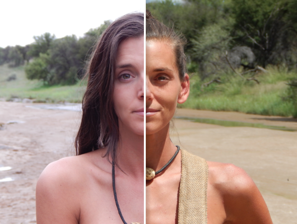 Naked and afraid without censure-9229