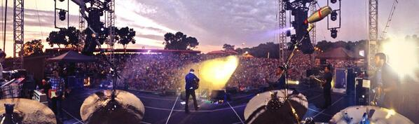 Wow. Quite a turnout tonight @ArtparkNY!! http://t.co/5PDxERMEGb