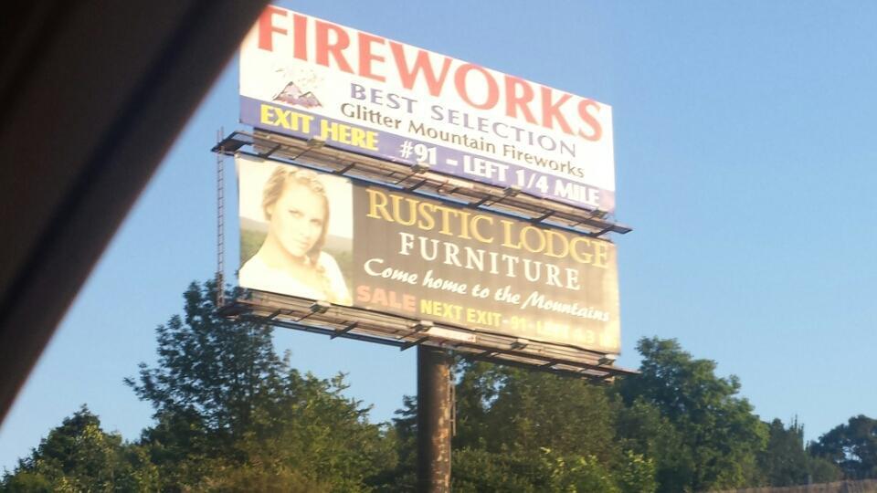 Kristin Beaver On Twitter Rustic Lodge Furniture Billboard On PA - Rustic lodge furniture