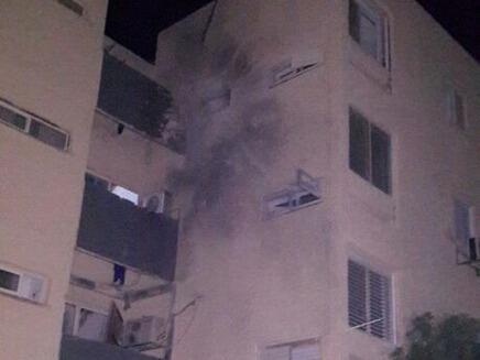 Sderot home hit by Gaza rocket