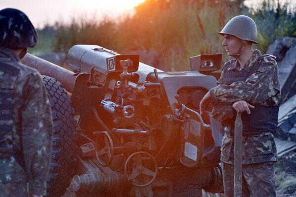 Артиллеристы наносят удар по террористам возле Славянска - Цензор.НЕТ 2513