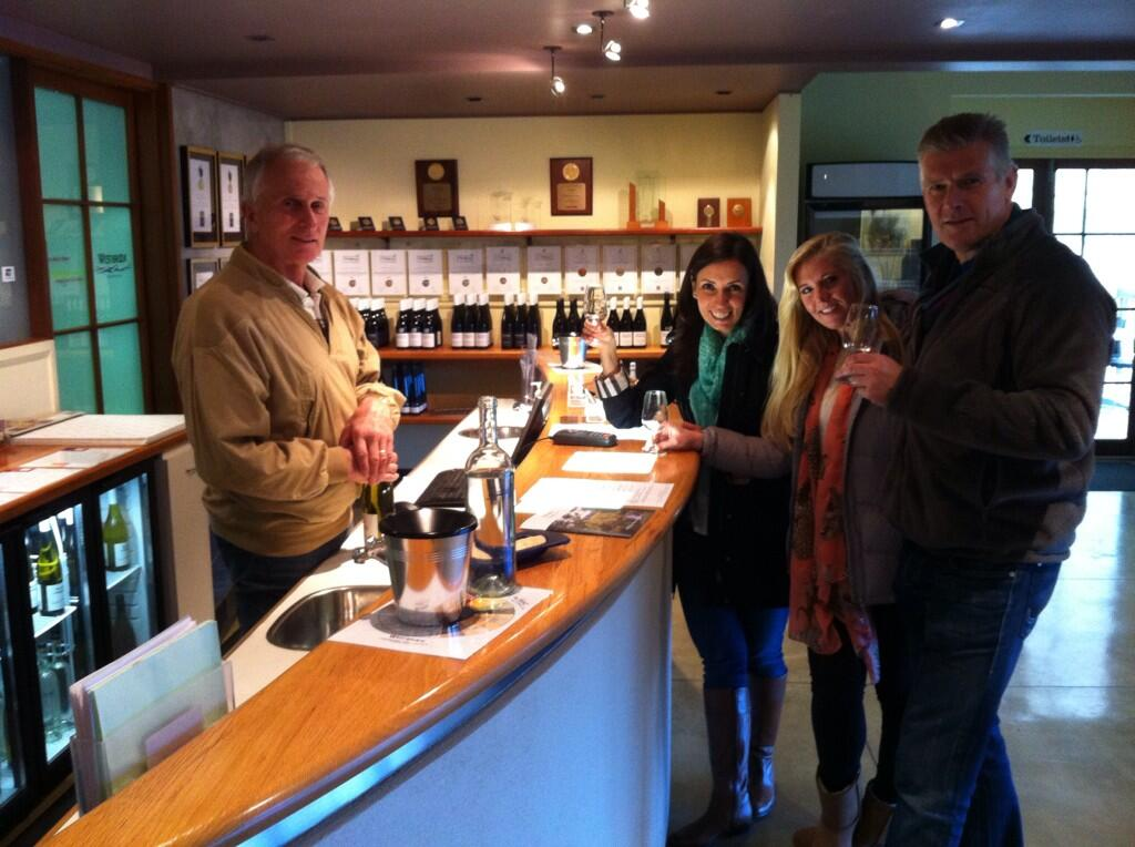 Twitter / NZWINEPRO: Clients tasting wines & ...