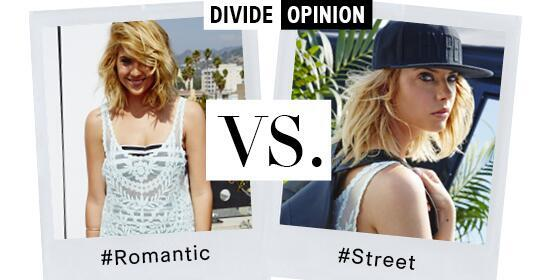 Win a trip to LA! #Romantic or #Street? Reply & hashtag which you prefer & why!#DivideOpinion http://t.co/Pq9OjNiQvU http://t.co/X1jPftJios